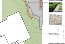 Gartenumgestaltung - Gartenplan