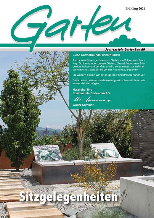 Gartenzeitung Frühling 2021