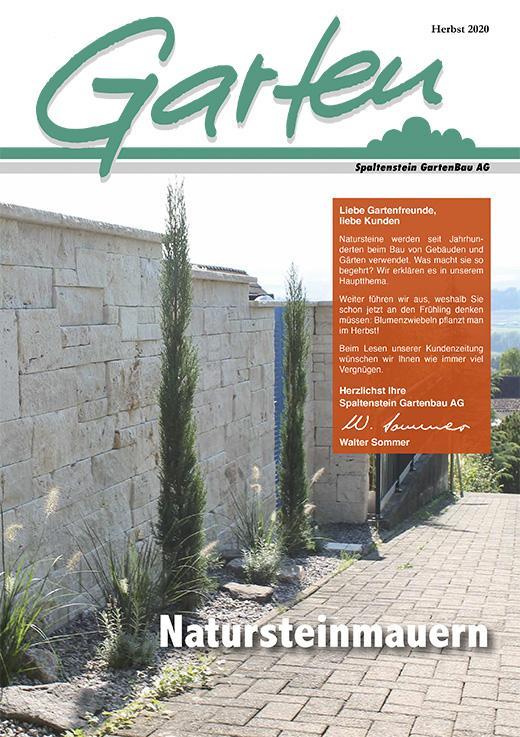 Gartenzeitung Herbst 2020