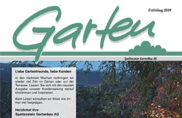 Neue Gartenzeitung  Frühling 2019