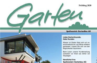 Neue Gartenzeitung Frühling 2020