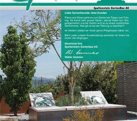 Neue Gartenzeitung Frühling 2021